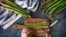 asparagus dogs