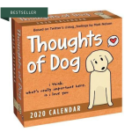 Thoughts of Dog calendar