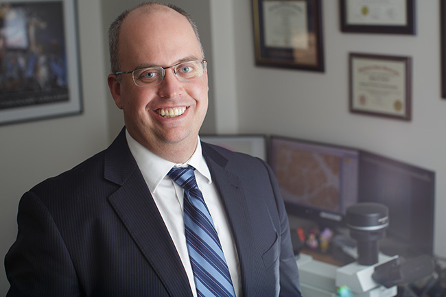 Adam Stern, forensic pathologist