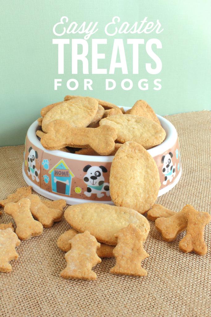 Easter dog treats recipe