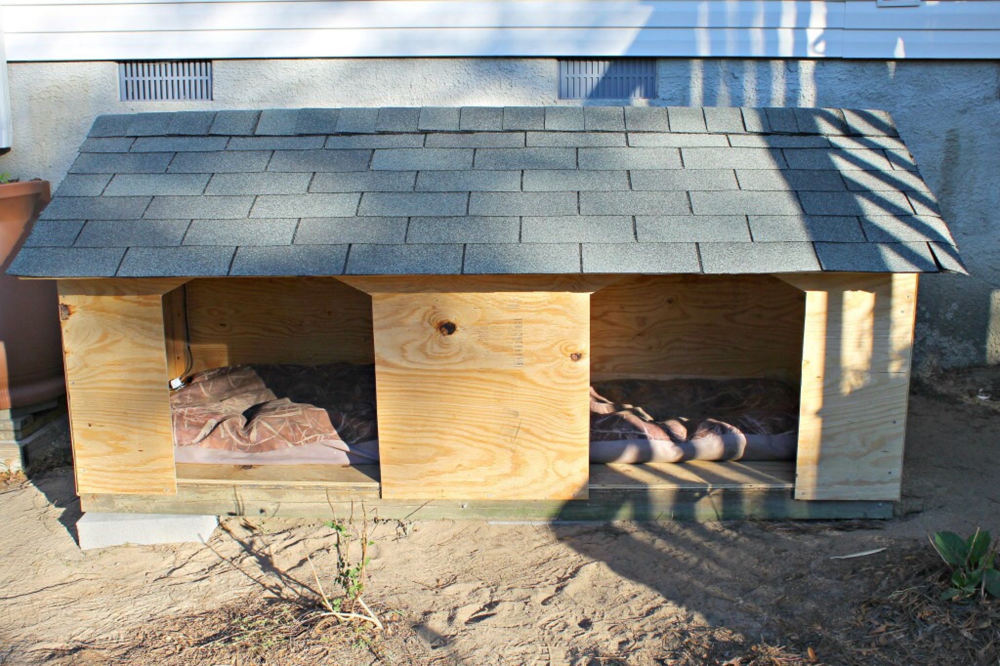 5 droolworthy diy dog house plans healthy paws for Build a house online free