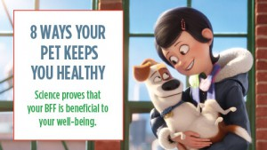 Pets Make You Healthy