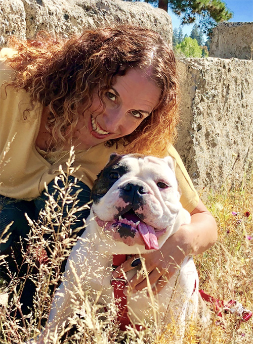 Dog trainer Sarah-Anne Reed