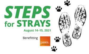 Steps for Strays logo